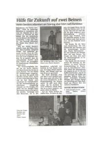 Zeitungsbericht Nicu 1113